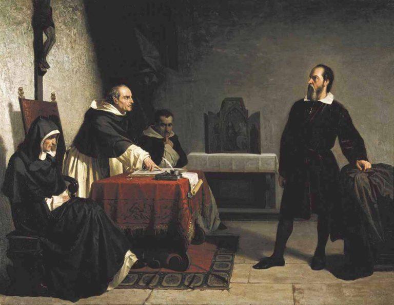 Кристиано Банти. Галилей перед Инквизицией1.jpg